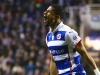 Reading's Garath McCleary will hope to trouble Arsenal