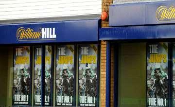 William Hill shopfront