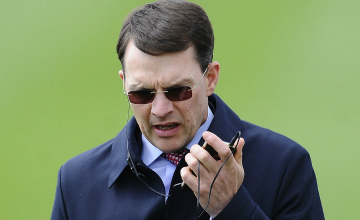 Aidan O'Brien: has won the race four out of the last five runnings