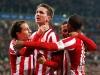 PSV's Luuk de Jong celebrates with his teammates