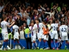 Crystal Palace celebrate their win at Chelsea