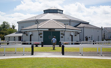 General view of Tattersalls Ireland.