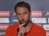 England U21 boss Gareth Southgate at a media conference