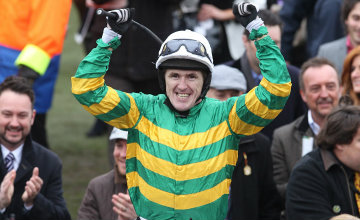 Tony McCoy after Synchronised won the Gold Cup