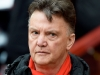MANCHESTER ENGLAND MARCH 15 Louis van Gaal the manager of Manchester United looks on during the Barclays Premier League match between Manchester United and Tottenham Hotspur at Old Trafford on March 15 2015 in Manchester England Photo by Michael