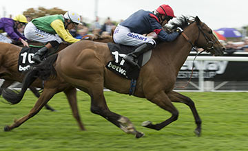 Trip To Paris wins the Chester Cup