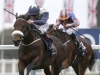 Fascinating Rock left beat Found in a thrilling conclusion to the Champion Stakes at Ascot