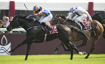 Ballydoyle beats Turret Rocks for an Ireland one two-in the Boussac