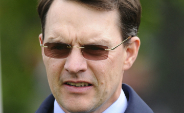 Aidan O'Brien: set to run The Gurkha at Deauville next Sunday