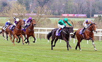 Harzand and Pat Smullen winning from Idaho