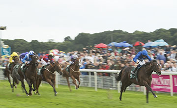 Blue Point and William Buick win the Gimcrack