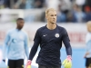 GOTHENBURG SWEDEN AUGUST 07 Joe Hart goalkeeper of Manchester City during the PreSeason Friendly between Arsenal and Manchester City at Ullevi on August 7 2016 in Gothenburg Sweden Photo by Nils Petter NilssonOmbrelloGetty Images