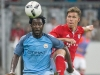 Wilfried Bony left has moved to Stoke on loan from Manchester City