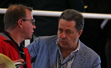 Markus Jooste and Derek Brugman at Tattersalls