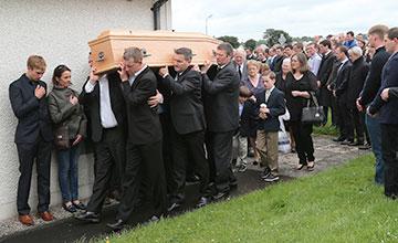JT McNamara Funeral,