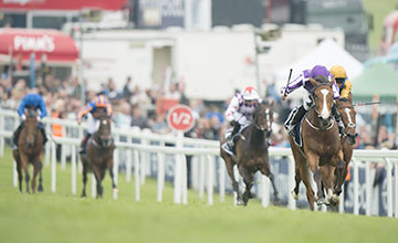 Minding (Ryan Moore) wins The Oaks