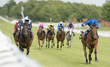 SKIFFLE wins at Goodwood