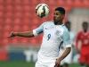 Marcus Rashford in action for England U20s against Canada in March
