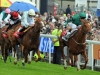 New Approach and Kevin Manning right close in on Epsom victory