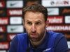 ENFIELD ENGLAND NOVEMBER 14 Gareth Southgate interim manager of England speaks during an England press conference on the eve of their international friendly match against Spain at Tottenham Hotspur Training Centre on November 14 2016 in Enfield Eng