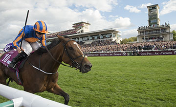 Found (Ryan Moore) wins the Prix de L'Arc de Triomphe