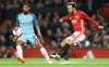 MANCHESTER ENGLAND OCTOBER 26 Juan Mata of Manchester United R shoots during the EFL Cup fourth round match between Manchester United and Manchester City at Old Trafford on October 26 2016 in Manchester England Photo by David RogersGetty Image