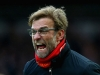 LONDON ENGLAND JANUARY 02 Jurgen Klopp manager of Liverpool reacts during the Barclays Premier League match between West Ham United and Liverpool at Boleyn Ground on January 2 2016 in London England Photo by Clive RoseGetty Images
