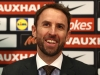 LONDON ENGLAND DECEMBER 01 Gareth Southgate speaks at a press conference as he is unveiled as the new England manager at Wembley Stadium on December 1 2016 in London England Photo by Julian FinneyGetty Images