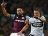 Robert Snodgrass left is a key man for Aston Villa