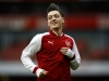 LONDON ENGLAND MARCH 11 Mesut Ozil of Arsenal warms up during the Premier League match between Arsenal and Watford at Emirates Stadium on March 11 2018 in London England Photo by Julian FinneyGetty Images