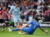 SOUTHAMPTON ENGLAND OCTOBER 07 Alvaro Morata of Chelsea scores his team's third goal past Alex McCarthy of Southampton during the Premier League match between Southampton FC and Chelsea FC at St Mary's Stadium on October 7 2018 in Southamp