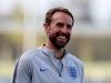 BURTONUPONTRENT ENGLAND OCTOBER 11 Gareth Southgate Manager of England smiles during the England Training Session at St Georges Park on October 11 2018 in BurtonuponTrent England Photo by Catherine IvillGetty Images